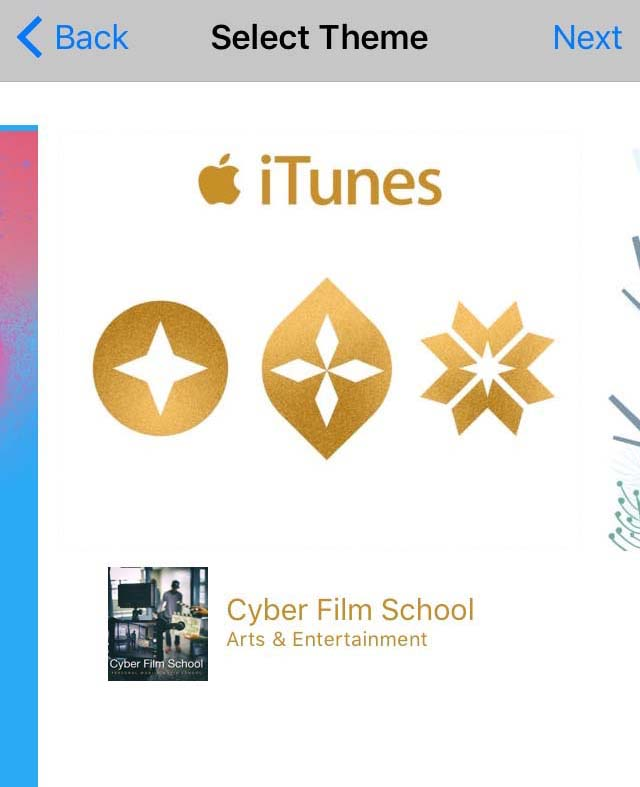 Gift Cyber Film School iBook iTunes Gift Holiday Theme