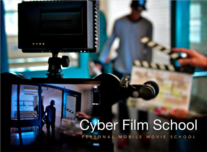 Cyber Film School for iPad cover page