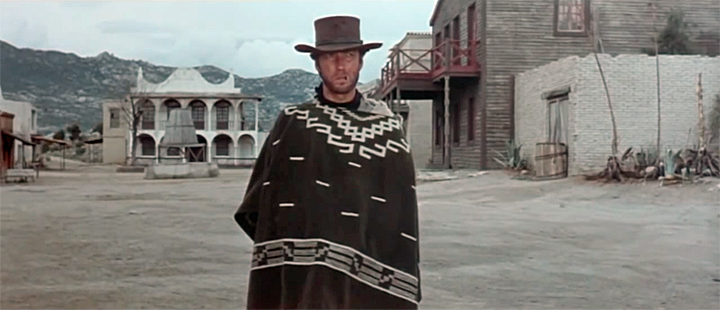 Cant Eastwood Medium Shot Fistful of Dollars